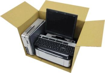 不用なパソコン等の宅配便による無料回収イメージ画像