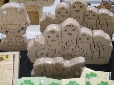 木工製品(小郡特別支援学校)