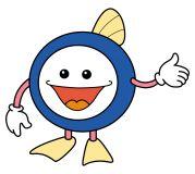 下水道マスコットキャラクター 「スイスイ」の画像